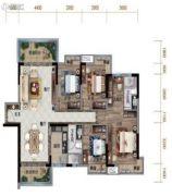 清溪碧桂园・天誉4室2厅2卫0平方米户型图