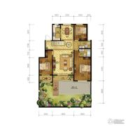 清山公爵城3室2厅2卫150平方米户型图