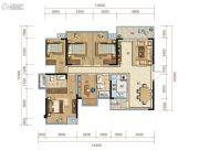 保利心语5室2厅2卫138平方米户型图