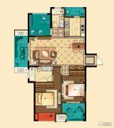 星河国际3室2厅2卫127平方米户型图
