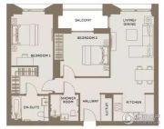 The Residence0平方米户型图