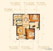 金鹰国际城2室2厅1卫105平方米户型图