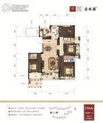 绿谷庄园4室2厅3卫156平方米户型图