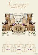 恒大帝景(备案名:聚亨景园)3室2厅2卫130平方米户型图