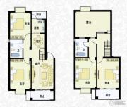 城南春天4室2厅2卫145平方米户型图