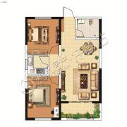 山峰财富广场2室1厅1卫75平方米户型图