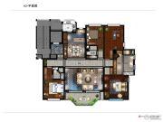 银润中央广场二期4室2厅3卫247平方米户型图