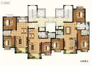 物华澜菲溪岸3室2厅2卫0平方米户型图