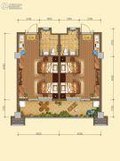 白鹿溪谷2室2厅2卫0平方米户型图
