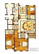 华府樟园3室2厅3卫0平方米户型图