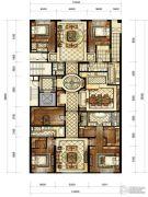 中海枫丹公馆5室3厅5卫446平方米户型图