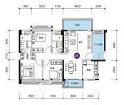 远洋香缇(商铺)3室2厅2卫118平方米户型图
