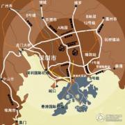 观澜湖御林山交通图