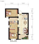山海城邦・马街摩尔城3室2厅1卫93平方米户型图