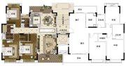 雅居乐山海郡3室2厅2卫143平方米户型图