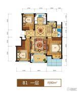 滨江西溪之星0室0厅0卫90平方米户型图