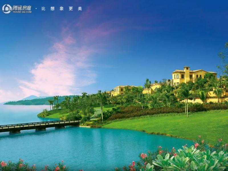 中国美林湖星海游艇别墅效果图