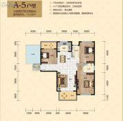 南湖・玫瑰湾3室2厅2卫115平方米户型图
