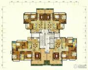 珠光流溪御景3室2厅2卫96--167平方米户型图