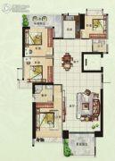 香樟美地4室2厅2卫159平方米户型图