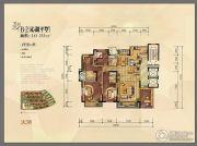 金地湖城大境4室3厅4卫243--253平方米户型图