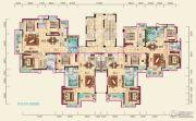 兴润・秋语台3室2厅2卫134平方米户型图