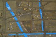 骏景中央公园交通图