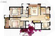 格兰郡庭3室2厅1卫105平方米户型图