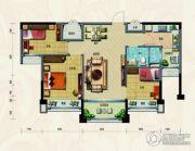 淄博碧桂园3室2厅1卫93平方米户型图
