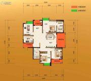 金源华府4室2厅2卫130--149平方米户型图