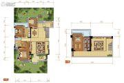 中航城4室3厅2卫180平方米户型图