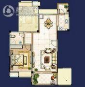 时代国际2室2厅1卫0平方米户型图