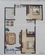 恒丰尚品2室2厅1卫0平方米户型图