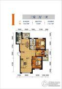 联发・香水湾3室2厅1卫112平方米户型图