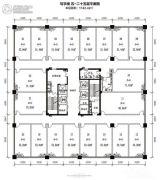 北部湾地王国际1室0厅0卫0平方米户型图