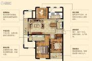 苏泊尔・滨江壹号花园3室2厅2卫143平方米户型图