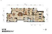 永泰・西山御园4室2厅2卫0平方米户型图
