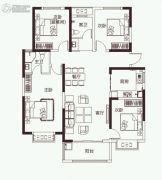 开元壹号4室2厅2卫161平方米户型图