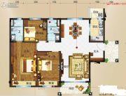 玉林碧桂园3室2厅2卫134平方米户型图