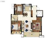 上悦城3室2厅1卫99平方米户型图