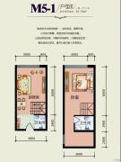 天悦国际1室1厅2卫0平方米户型图
