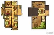 合力・铂金公馆4室2厅3卫157--158平方米户型图