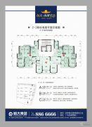 岳阳恒大・南湖半岛3室2厅0卫0平方米户型图