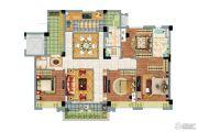南京碧桂园4室2厅2卫140平方米户型图
