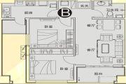 漯河・昌建广场2室2厅1卫94平方米户型图