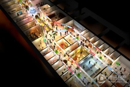 金磊爱尚街室内俯视图