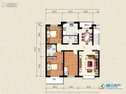 祥和馨筑3室2厅2卫136平方米户型图