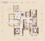 海宁湾3室2厅2卫166平方米户型图