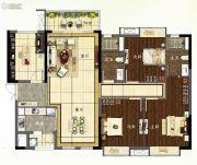 龙湖首开天宸原著4室2厅2卫130平方米户型图