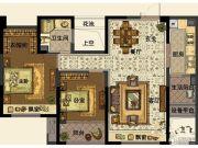 中交・南山美庐2室2厅1卫90平方米户型图
